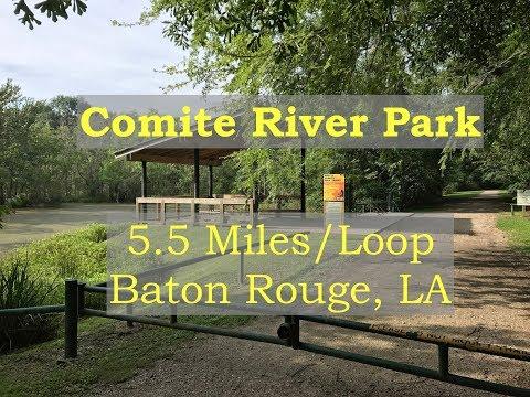 BREC Comite River Park - Trails in Louisiana Near Baton Rouge