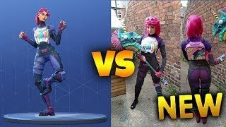 Every Fortnite Skin In Real Life! (Brite Bomber, Skull Trooper, Power Chord)