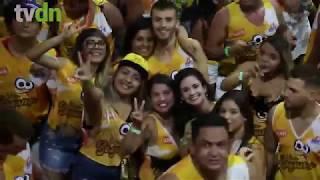 Foliões curtem primeira noite do Fortal 2017