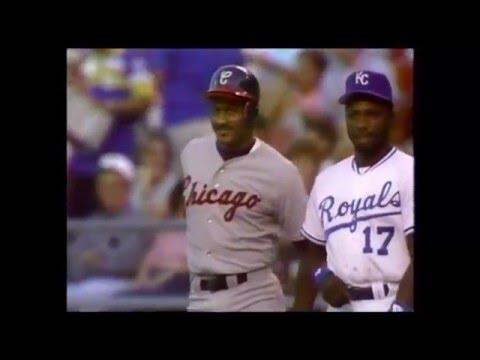 1990 MLB White Sox at Royals