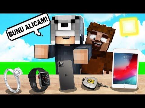 FAKİR DOKUNDUĞUM HER ŞEYİ SATIN ALIYOR! 😱 - Minecraft