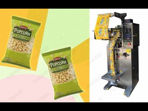Granule Pouch Packing Machine|Potato Chips Packaging Machine @autopackm.com