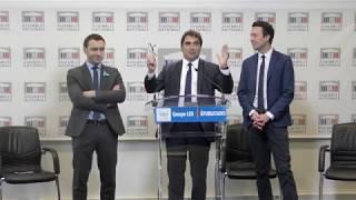 Conférence de presse de Christian Jacob en présence de Julien Dive et Guillaume Peltier - 03/04/2018