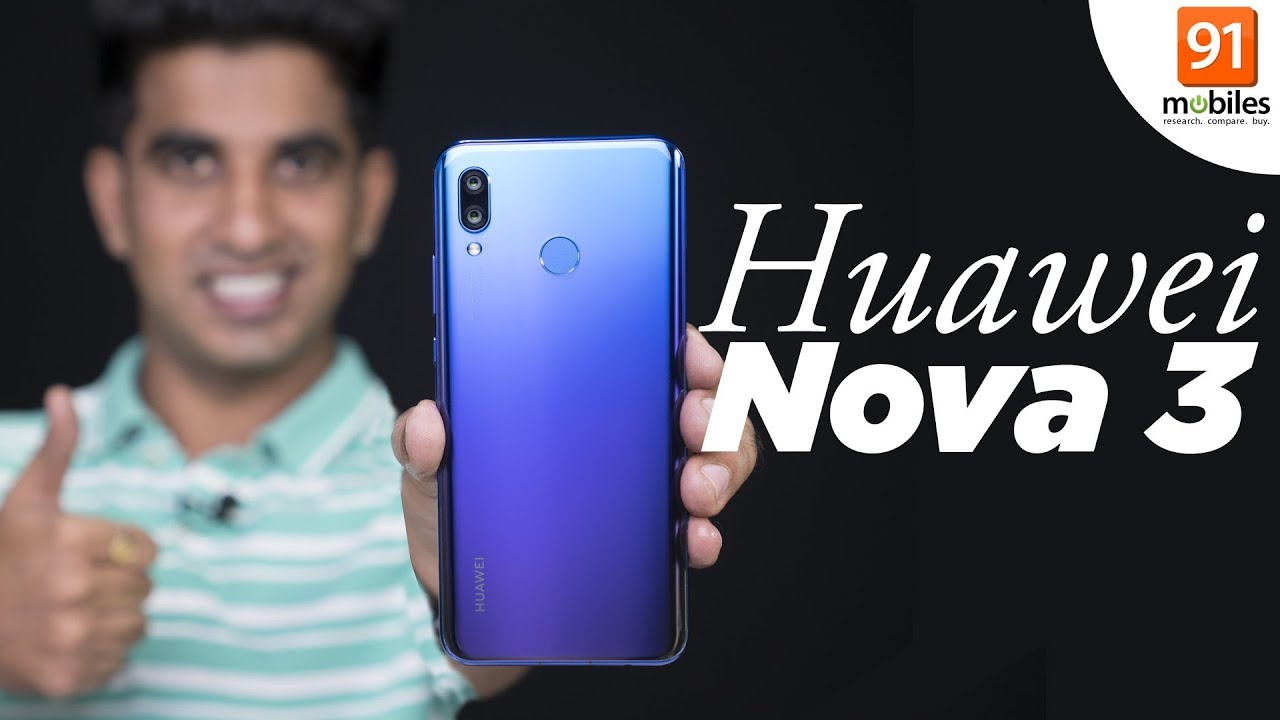 Huawei Nova 3 gets ViLTE support with new software update