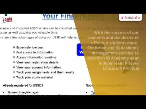 Education in Johannesburg - IQ Academy - Distance Learning - InfoIsInfo