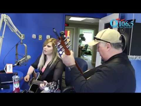 "LIVE ON Q106.5: Samantha Lynn Performs ""Fly"""