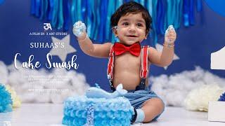 Suhaas 1st birthday Cake Smash highlights