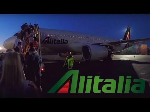FLIGHT REPORT / ALITALIA AIRBUS A320 / KIEV - ROME