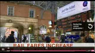BBC News Channel fault 2/1/2014 with Simon McCoy and Carrie Gracie