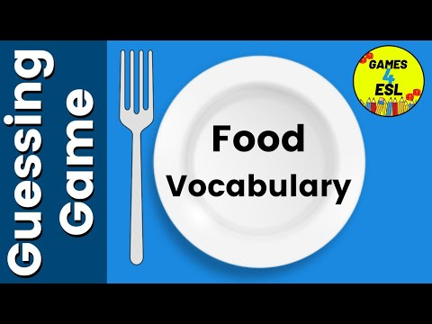 Food Vocabulary With Pictures | English Vocabulary Games