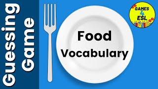 Food Vocabulary Esl Game | English Vocabulary Games