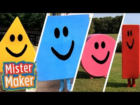 **NEW** Mister Maker Shapes Song Compilation! 🕺🎨 Dancing Music For Children 🎶