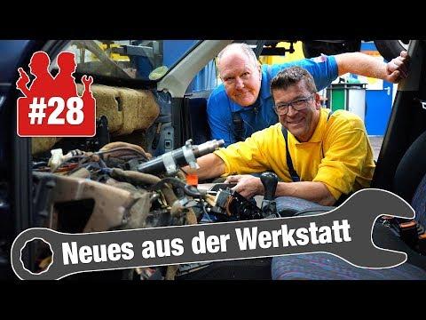 DHL crasht in Holgers Werkstatt & VW-Golf-Wärmetauscher-Wahnsinn   Neues aus der Werkstatt #28