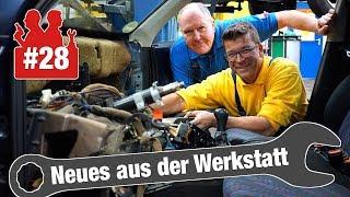 DHL crasht in Holgers Werkstatt & VW-Golf-Wärmetauscher-Wahnsinn | Neues aus der Werkstatt #28