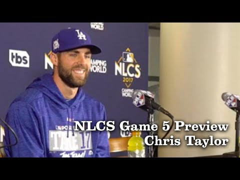 Chris Taylor on His Breakout Season | Los Angeles Times
