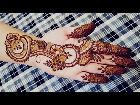 New Latest Arabic Henna Design 4 Heena Vahid Youtube