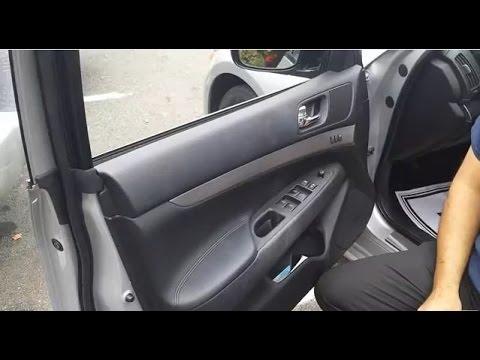 Infiniti or Nissan Door Lock Actuator or Door Handle, Door Lock Replacement  YouTube