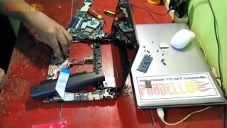 Cara bongkar Netbook Acer Aspire One 722