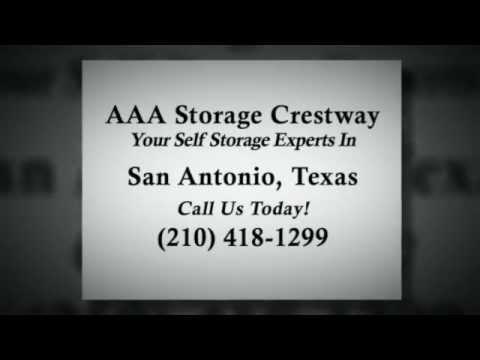 Self Storage Facility San Antonio TX | (210) 418 1299 | AAA Storage