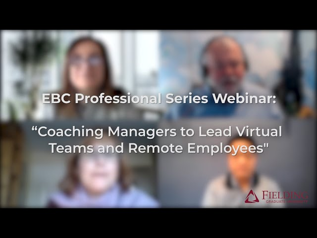 #Coaching Managers to Lead #VirtualTeams and #RemoteEmployees