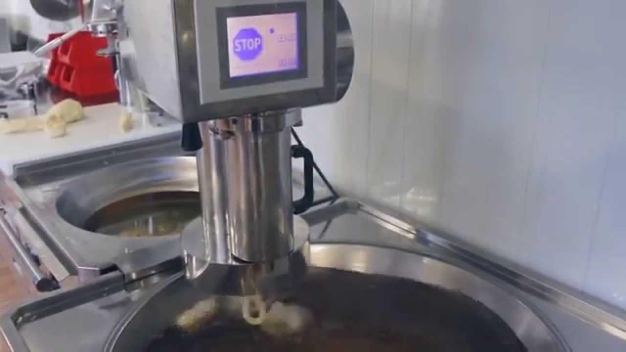 Venta De Carros >> Máquina de churros automática haciendo churros rectos y de ...