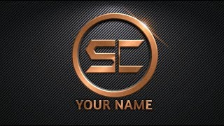 How to Make Logo for Youtube Channel   How to Make Logo in PicsArt