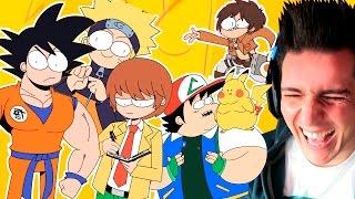 Los super amigos kawaii | video reaccion