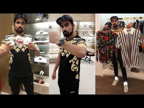 Gucci Shopping 😱 For Youtube Fanfest