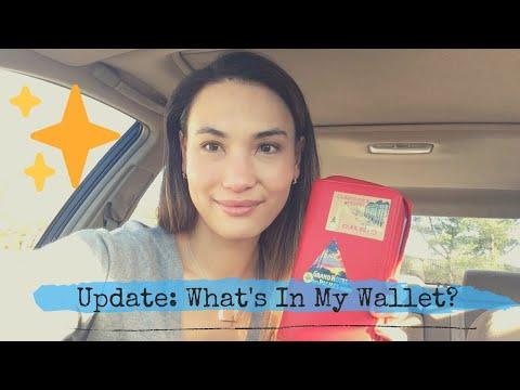 What's In My Wallet - Update! - Filofax Compact Saffiano Zip