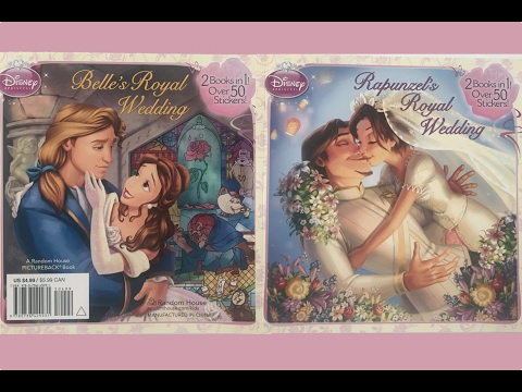 Book review: Beauty and the Beast WEDDING and Rapunzel WEDDING!!!