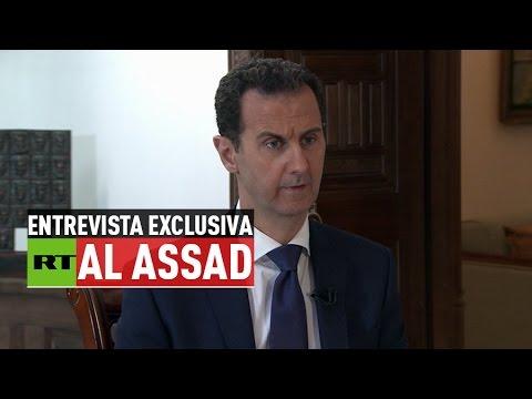 """""""Los terroristas en Siria son las verdaderas tropas de Occidente"""" - (Entrevista con Bashar al Assad)"""