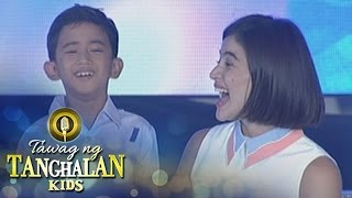 Tawag ng Tanghalan Kids: Jhon Clyd receives a TV from Anne