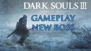 Dark Souls 3 Ashes of Ariandel DLC - Gameplay Demo Walkthrough (New Boss Fight)