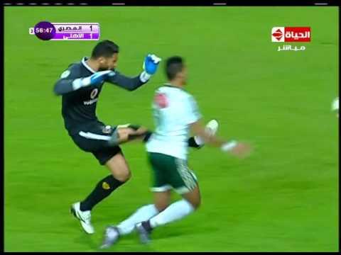 اهداف مباراة الاهلي والمصري 2-2 HD 23-2-2016