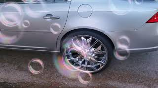 Buick lucerne on 24s pop trunk NOT MINES🖤Pop trunk LOUSIANA😁😁😁