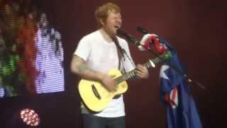 Give Me Love - Ed Sheeran [Live in Perth, Australia] 4/4/15