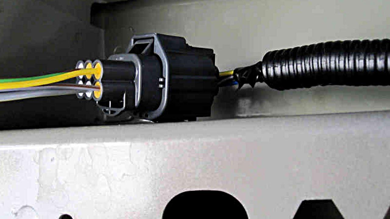 Mod: Rear Bumper Parking Sensor  Part 2  YouTube
