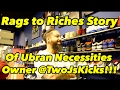 Rags to Riches Story of Urban Necessities Owner @TwoJsKicks + Copped the Energy Red Ultra Boost 3.0