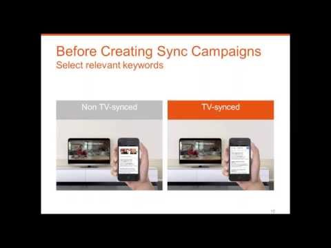 SearchSync Training: How to sync TV & SEA campaigns