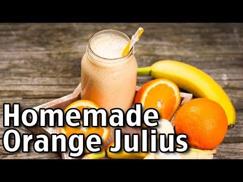 How To Make Homemade Orange Julius!