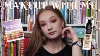 makeup with me| nyx, makeup revolution, jessup etc.