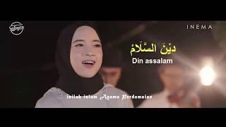 DEEN ASSALAM  -  Nissa Sabyan Lirik Versi Karaoke