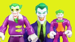 Imaginext Joker Dreams Of Destroying Batman Superman Spider-Man Wolverine And Captain America