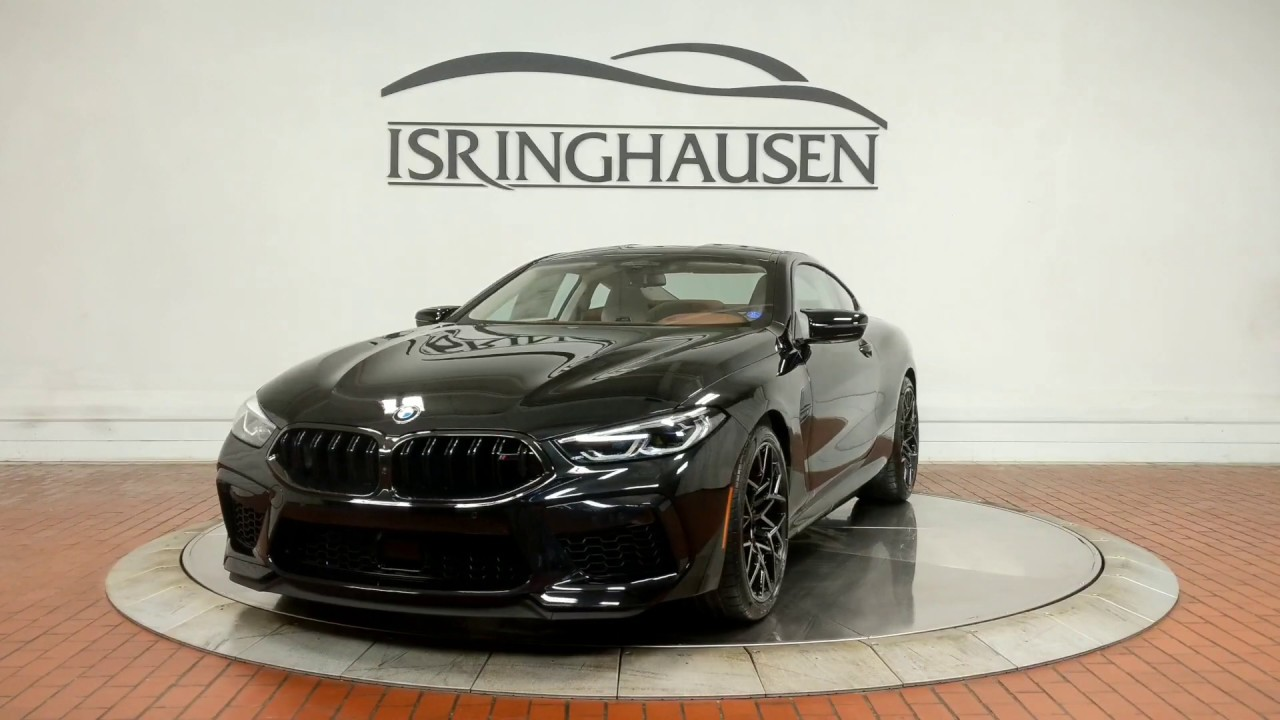 Bmw M8 Gran Coupe 2020 Negro