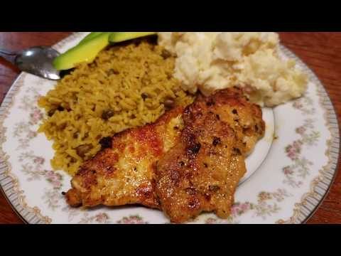 How To Make  A Boneless Pork Chops