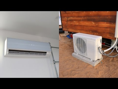 Ac Mini Split Installation Diy How To Tiny House Youtube