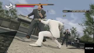 Yakuza 0 - ALL Heat Actions - Kazuma