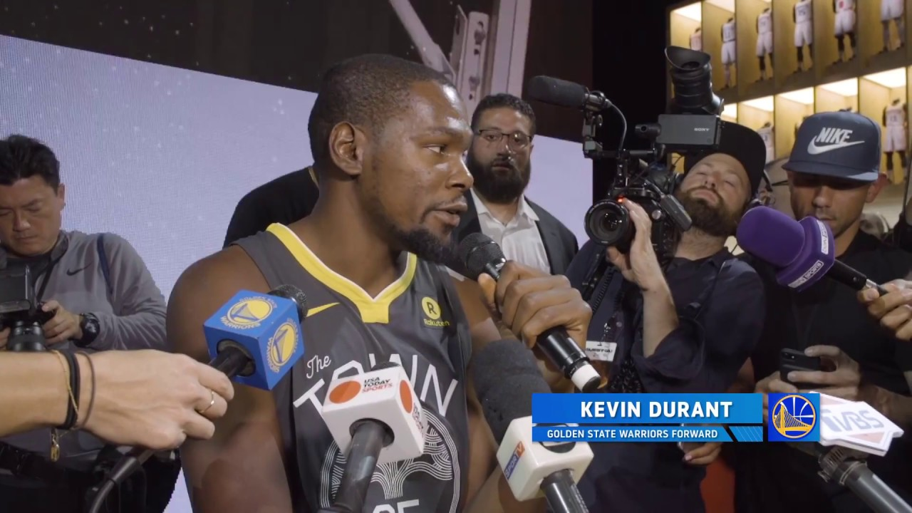 All-Access  KD Unveils  The Town  Jersey - YouTube 706c9af7a