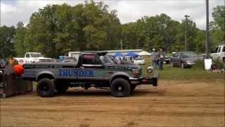 Truck Pulls, Willow Springs MO, Lenny Johnson, Thunder Two