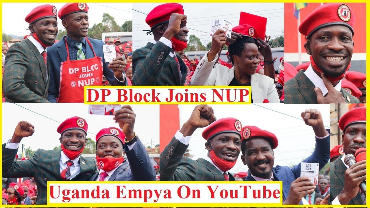 BOBI WINE AYINGIZA BA MOLES MU NUP | DP Block joins National Unity Platform